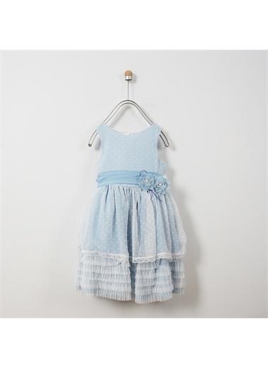 Panço Abiye Elbise 19126028100 Mavi